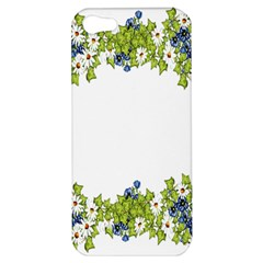Birthday Card Flowers Daisies Ivy Apple Iphone 5 Hardshell Case