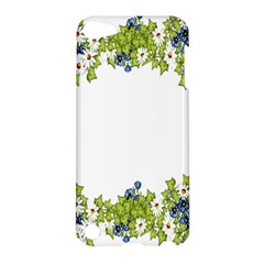 Birthday Card Flowers Daisies Ivy Apple Ipod Touch 5 Hardshell Case