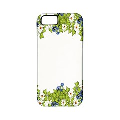Birthday Card Flowers Daisies Ivy Apple Iphone 5 Classic Hardshell Case (pc+silicone)