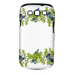 Birthday Card Flowers Daisies Ivy Samsung Galaxy S Iii Classic Hardshell Case (pc+silicone)