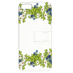Birthday Card Flowers Daisies Ivy Apple Iphone 5 Hardshell Case With Stand