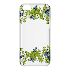 Birthday Card Flowers Daisies Ivy Apple Iphone 5c Hardshell Case