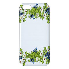 Birthday Card Flowers Daisies Ivy Iphone 5s/ Se Premium Hardshell Case
