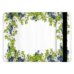 Birthday Card Flowers Daisies Ivy Samsung Galaxy Tab Pro 12 2  Flip Case