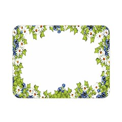 Birthday Card Flowers Daisies Ivy Double Sided Flano Blanket (Mini)