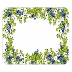Birthday Card Flowers Daisies Ivy Double Sided Flano Blanket (small)