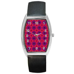 Retro Abstract Boho Unique Barrel Style Metal Watch