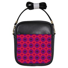 Retro Abstract Boho Unique Girls Sling Bags