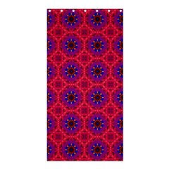 Retro Abstract Boho Unique Shower Curtain 36  x 72  (Stall)