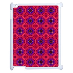 Retro Abstract Boho Unique Apple iPad 2 Case (White)