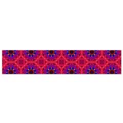 Retro Abstract Boho Unique Flano Scarf (Small)