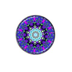 Graphic Isolated Mandela Colorful Hat Clip Ball Marker