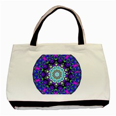 Graphic Isolated Mandela Colorful Basic Tote Bag