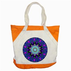 Graphic Isolated Mandela Colorful Accent Tote Bag