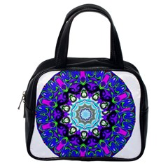Graphic Isolated Mandela Colorful Classic Handbags (one Side)