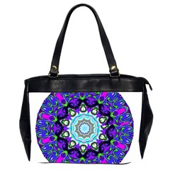 Graphic Isolated Mandela Colorful Office Handbags (2 Sides)