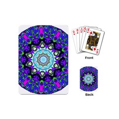 Graphic Isolated Mandela Colorful Playing Cards (Mini)