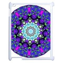 Graphic Isolated Mandela Colorful Apple Ipad 2 Case (white)