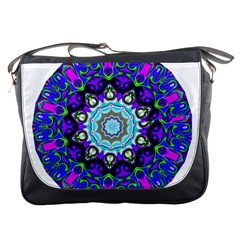 Graphic Isolated Mandela Colorful Messenger Bags
