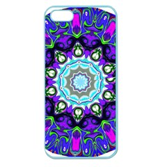 Graphic Isolated Mandela Colorful Apple Seamless iPhone 5 Case (Color)