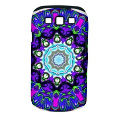 Graphic Isolated Mandela Colorful Samsung Galaxy S Iii Classic Hardshell Case (pc+silicone)