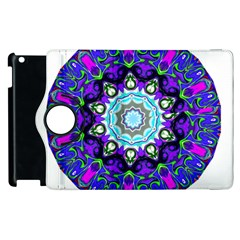 Graphic Isolated Mandela Colorful Apple Ipad 2 Flip 360 Case