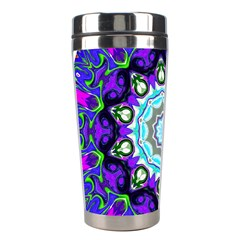 Graphic Isolated Mandela Colorful Stainless Steel Travel Tumblers