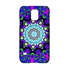 Graphic Isolated Mandela Colorful Samsung Galaxy S5 Hardshell Case