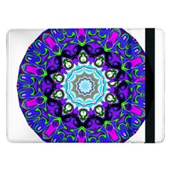 Graphic Isolated Mandela Colorful Samsung Galaxy Tab Pro 12 2  Flip Case