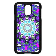 Graphic Isolated Mandela Colorful Samsung Galaxy S5 Case (black)