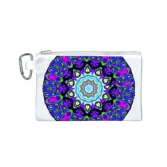 Graphic Isolated Mandela Colorful Canvas Cosmetic Bag (s)