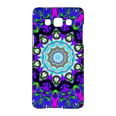 Graphic Isolated Mandela Colorful Samsung Galaxy A5 Hardshell Case