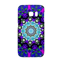 Graphic Isolated Mandela Colorful Galaxy S6 Edge