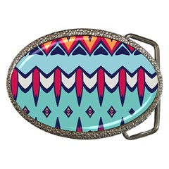 Rhombus hearts and other shapes             Belt Buckle