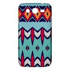Rhombus hearts and other shapes       Samsung Galaxy Duos I8262 Hardshell Case