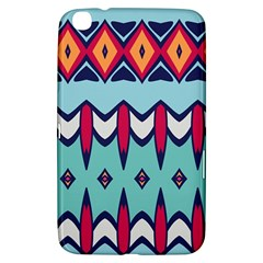 Rhombus hearts and other shapes       Samsung Galaxy Tab 3 (7 ) P3200 Hardshell Case