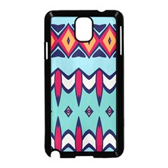 Rhombus hearts and other shapes       Samsung Galaxy S5 Back Case (White)