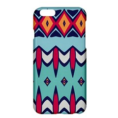 Rhombus hearts and other shapes       Apple iPhone 6 Plus/6S Plus Enamel White Case