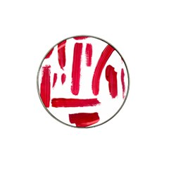Paint Paint Smear Splotch Texture Hat Clip Ball Marker (4 pack)