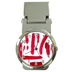 Paint Paint Smear Splotch Texture Money Clip Watches