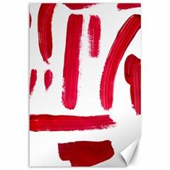 Paint Paint Smear Splotch Texture Canvas 12  X 18