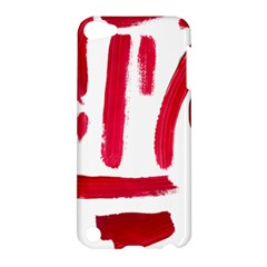 Paint Paint Smear Splotch Texture Apple iPod Touch 5 Hardshell Case