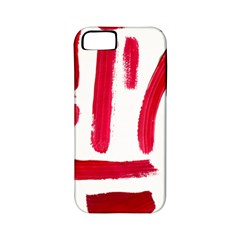 Paint Paint Smear Splotch Texture Apple Iphone 5 Classic Hardshell Case (pc+silicone)