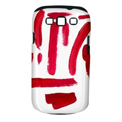 Paint Paint Smear Splotch Texture Samsung Galaxy S III Classic Hardshell Case (PC+Silicone)