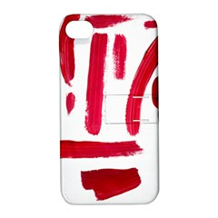 Paint Paint Smear Splotch Texture Apple Iphone 4/4s Hardshell Case With Stand