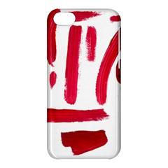 Paint Paint Smear Splotch Texture Apple Iphone 5c Hardshell Case