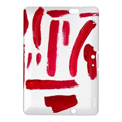 Paint Paint Smear Splotch Texture Kindle Fire Hdx 8 9  Hardshell Case