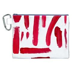 Paint Paint Smear Splotch Texture Canvas Cosmetic Bag (xxl)