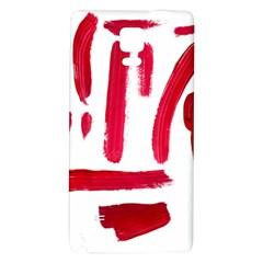 Paint Paint Smear Splotch Texture Galaxy Note 4 Back Case