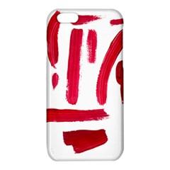 Paint Paint Smear Splotch Texture iPhone 6/6S TPU Case